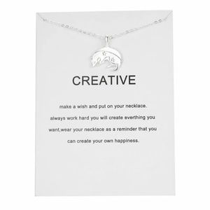 Jewelry - Silver Mouse Creative Necklace